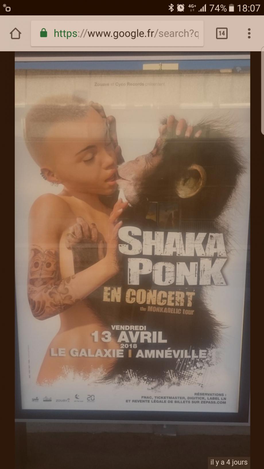 Pour le retrait de l'affiche shaka ponk - Petitionenligne com